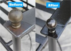 Painting Metal Patio Chairs: 5 Easy Steps to an Awesome Makeover Furniture Makeovers, Outdoor Furniture, Metals Patios, Painting Metals, Outdoor Patios, Metals Outdoor, Patios Chairs, Metals Furniture, Metals Chairs