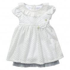 CAP SLEEVE PETER PAN COLLAR SWEATER KNIT DRESS (3MO TO 6MO) / Buy it, Borderlinx will ship it to you.  http://www.borderlinx.com/