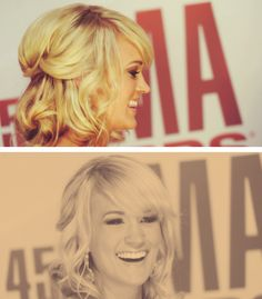 More of Carrie Underwood's hair