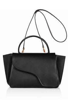 ATP Atelier Arezzo Black Vacchetta Bag