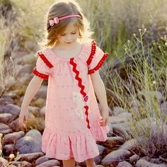 EASY Peasant dress pattern Girls dress by MyChildhoodTreasures