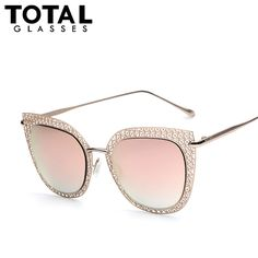 $16.34 (Buy here: http://appdeal.ru/7yjw ) Women's Sunglasses Newest Vintage Metal Frame Goggle Summer Style Brand Design Sun Glasses Oculos De Sol UV400 for just $16.34