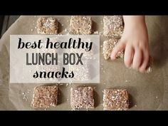 Best Healthy School Lunch Snack Recipes - Easy School Lunch Ideas - Granola bar and chia seed pudding School Lunch Recipes, Healthy Lunches For Kids, Healthy School Lunches, Lunch Box Recipes, Fun Snacks For Kids, Lunch Snacks, Yummy Snacks, Kids Meals, Snack Recipes
