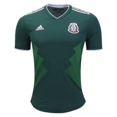 adidas Mexico Home Authentic Player Issue World Cup 2018 Jersey (Green)