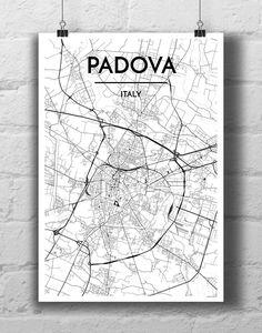Padova City Map