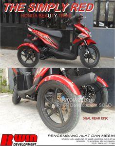 Honda Beat TRIKE info 0271711891