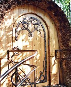 Fairy Tale Sauna - Artecology - Russia - Upper Door - Humble Homes