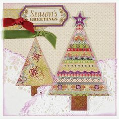 Paper Wishes® WOW - Featuring HOT OFF THE PRESS - Christmas Foil Artful Card Kits