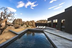 Sublime design features at Black Desert House, Yucca Valley