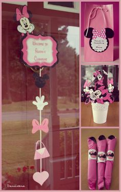 minnie mouse b-day party ideas