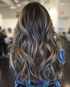 **Love the tones and multi dimensional Balayage, missing a few more light/bright strands through out*** Hair Color Balayage, Hair Highlights, Ombre Hair, Caramel Balayage Highlights, Bayalage, Hair Color And Cut, Brunette Hair, Great Hair, Gorgeous Hair
