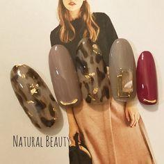 ネイルデザインランキング9月💅 2018 Natural Nail Art, Japanese Nail Art, Nails 2018, Autumn Nails, Types Of Nails, Cute Nail Designs, Cool Nail Art, Simple Nails, Nail Inspo