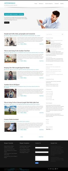 ArtemisMag Blogger Template:  ArtemisMag is a minimal, 2 columns business blogger theme with a right sidebar and 4 columns footer widgets area. ArtemisMag Blogger template has a featured content slider, top navigation menu, auto post summaries, social and post share buttons, Google fonts, related posts with thumbnails and more.  https://newbloggerthemes.com/artemismag-blogger-template/