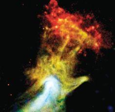 """Telescopio de NASA muestra al mundo la """"Mano de Dios"""""""