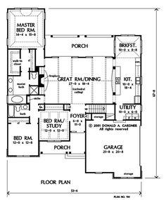 "DG's ""Edinburgh"" - #914.  1983 sq ft.  3x2 w/Study.  <3 open living/dining/kitchen!!!!"
