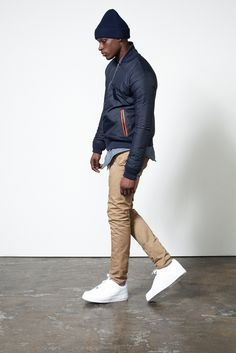 Aimé Leon Dore 2014 Debut Collection: New York-based label Aime Leon Dore is set to launch its online platform, one which will coincide Men's Fashion, Fashion Design, Fasion, Winter Fashion, Stylish Men, Men Casual, Streetwear, Aime Leon Dore, Swagg