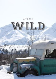 Into the wild cover design Get inspired on Betype.co