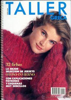 e760eae2d27c8 Revista  TALLER GRECA Nº27  Punto - 32 jerseys Otoño-Invierno. Incluye  Explicaciones - Vintage