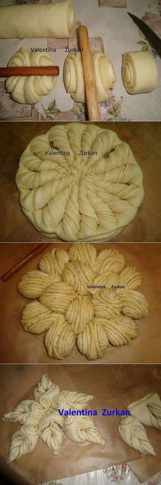 Discover recipes, home ideas, Cute Food, Yummy Food, Bread Recipes, Cooking Recipes, Bread Shaping, Bread Art, Pastry Art, Bread And Pastries, Bread Rolls