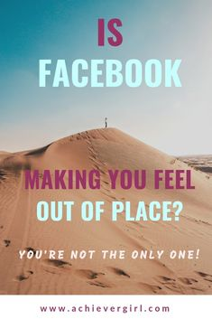 Facebook isn't for everyone and can cause you unnecessary stress if not used right. If you are feeling out of place on facebook, you're not the only one! Find out why I avoid facebook.  #achievergirl #facebook #facebookfriends #facebookpersonal #facebookbusiness #avoidfacebook #facebooktips #socialmedia #stress #stressrelief Facebook Business, Facebook Marketing, Social Media Marketing, Make You Feel, How Are You Feeling, Make Money Online, How To Make Money, My Face Book, One And Only