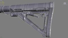 M4 carbine - Polycount Forum