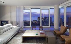 Penthouse Interior by Charles Zana
