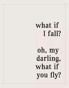 Spread your wings. . .