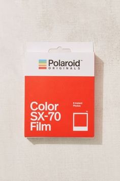 Shop Polaroid Originals SX-70 Color Instant Film at Urban Outfitters today. We carry all the latest styles, colors and brands for you to choose from right here.
