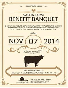 Sasha Farm Banquet 2014