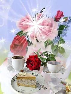 Good Morning Gift, Good Morning Coffee Gif, Good Morning Beautiful Pictures, Good Morning Beautiful Flowers, Good Morning Roses, Good Morning Images Flowers, Good Morning Image Quotes, Beautiful Flowers Pictures, Good Morning World