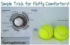 Tennis Balls-in-Dryer