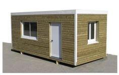 Modular de madera 6x2,40 - Mobilhomes y Caravanas ocasión Tarragona