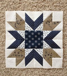 Blueberry Pie Block http://sistersandquilters.blogspot.com/2013_06_01_archive.html
