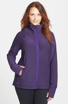 Nike Dri-FIT Jacket (Plus Size) available at #Nordstrom