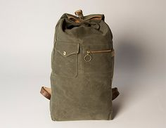 Collected Works Military Duffle Backpack