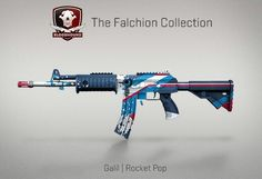 Counter-Strike Global Offensive: The Falchion Collection: Galil Rocket Pop