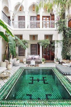 Le Riad Yasmine in Marrakech