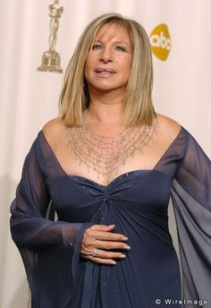 Barbra Streisand - Necklace JAR Paris. The 77th Annual Academy Awards - Press Room Kodak Theatre - Hollywood , California United States. February 27, 2005 Photo by Steve Granitz / WireImage.com