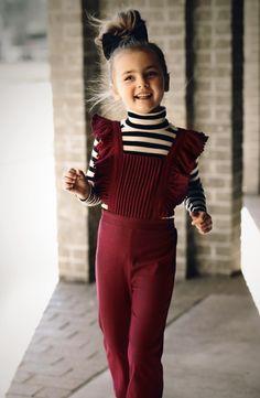 Girls Romper, kids style #chasinivy