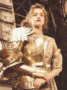 John Galliano for Christian Dior Fall Winter 2006 Haute Couture #jeanndarc #joanofarc