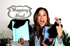 Mixed Shopping Haul Mai 2014 ♥ H&M, NewYorker, Asos, Kikki.K, Makeup  ☻