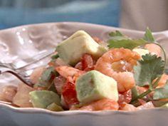 Sandra Lee Recipes   ... with Avocado Ceviche Recipe : Sandra Lee : Recipes : Food Network