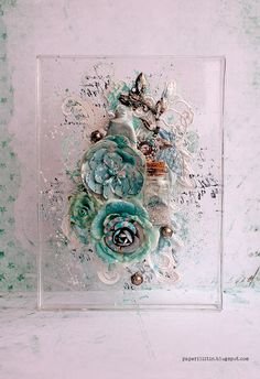 Pale and blue by Riikka Kovasin as a GDT to Mixed Media and Art