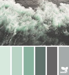 Color Sea via @designseeds