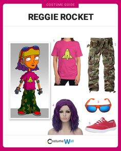 Join Team Rocket dressed as Reggie Rocket, the tomboy who loves extreme sports from the TV show Rocket Power. Got Costumes, Cosplay Costumes, Cosplay Ideas, Costume Ideas, Rocket Power, Team Rocket, Rocket Costume, Halloween Costume Contest, Halloween 2020