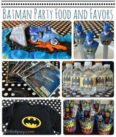 A Little Tipsy: Batman Birthday