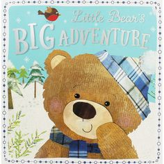 Little Bears Big Adventure Christmas Book by Sarah Phillips