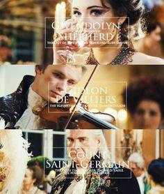 Gwendolyn Shepherd, Gideon de Villiers und der Graf von Saint Germain
