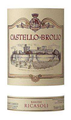 LE-  Barone Ricasoli Castello Di Brolio  Chianti Classico DOCG  #TuscanyAgriturismoGiratola