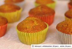 Sütőtökös muffin (Hungarian)